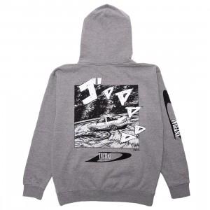 BAIT x Initial D Men Drift Design Hoody (gray)