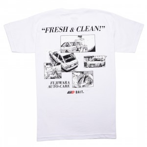 BAIT x Initial D Men So Fresh So Clean Tee (white)