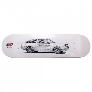 BAIT x Initial D Trueno Skatedeck (white)