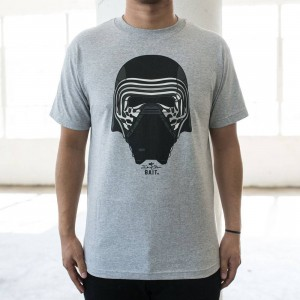BAIT x David Flores Kylo Ren Tee (gray / heather)
