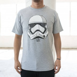 BAIT x David Flores First Order Stormtrooper Tee (gray / heather)