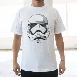 BAIT x David Flores First Order Stormtrooper Tee (white)