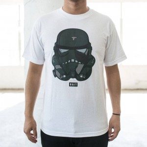 BAIT x David Flores Trooper Tee (white)
