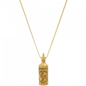 BAIT Sriracha Necklace (gold)