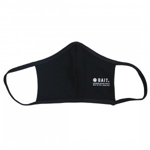 BAIT Stamp Logo Face Mask (black)