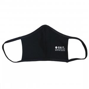 BAIT Stamp Logo Face Mask (black)