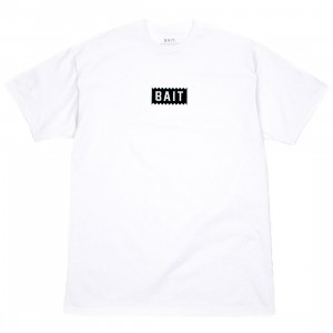 BAIT Men Official Logo Tee (white)