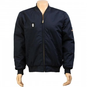 BAIT B Logo Team Jacket - Dickies (navy / white)