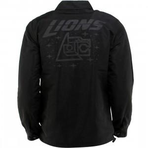 BAIT x Voltron Lions 3M Coach Jacket (black / black) - BAIT SDCC Exclusive