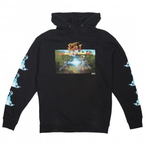 BAIT x Street Fighter x JBALVIN Men Hadouken Hoody (black)