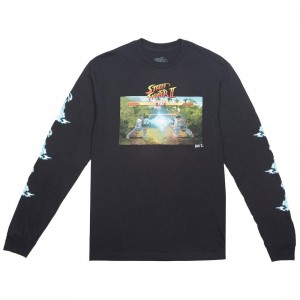 BAIT x Street Fighter x JBALVIN Men Hadouken Long Sleeve Tee (black)