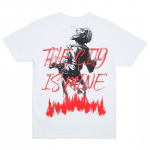 BAIT x Joker Men City Is Mine Tee (white)