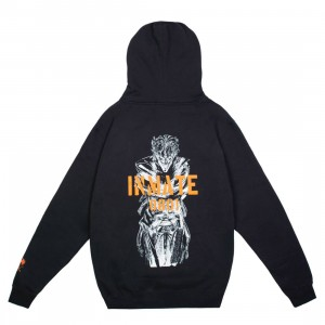 BAIT x Joker Men Inmate Hoody (black)