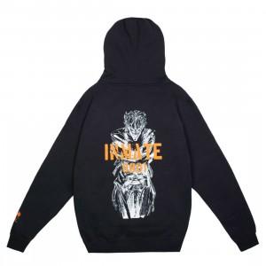 BAIT x Joker Men Inmate Hoody (black)