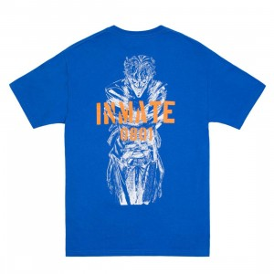 BAIT x Joker Men Inmate Tee (blue / surf the web)