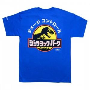 BAIT x Jurassic Park Men Damage Control Tee (blue / royal)