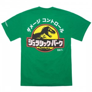 BAIT x Jurassic Park Men Damage Control Tee (green / kelly)