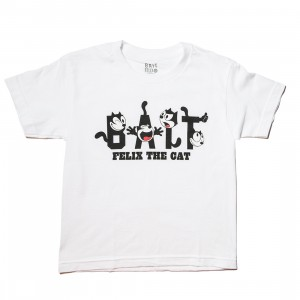 BAIT x DreamWorks BAIT Felix The Cat Youth Tee (white)