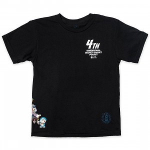 BAIT x Doraemon Youth 4D Tee (black)