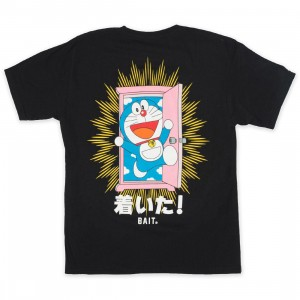 BAIT x Doraemon Youth Anywhere Door Tee (black)