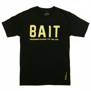 BAIT Men BAIT Logotype Tee (black / gold)