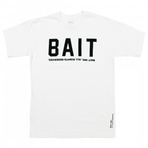 BAIT Men BAIT Logotype Tee (white)