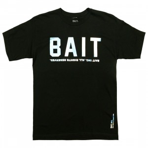BAIT Men BAIT Logotype Tee (black / holographic)