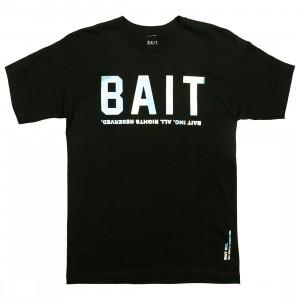 BAIT Men BAIT Logotype Tee (black / holographic)