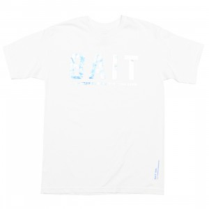 BAIT Men BAIT Logotype Tee (white / holographic)
