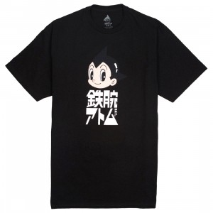 BAIT x Astro Boy Men Japanese Logo Tee (black)