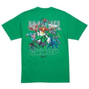 BAIT x Marvel Comics Men Avengers Group Tee (green)
