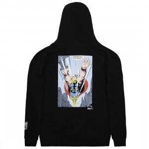 BAIT x Marvel Comics Men Thor Hoody (black)