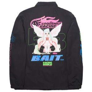 BAIT x Goodsmile Racing Men Racing Miku Coaches Jacket (black)