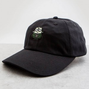 BAIT x Minion Monsters FrankenBob Dad Cap (black)