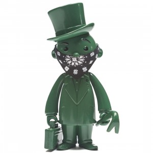 BAIT x Monopoly x Switch Collectibles Mr Pennybags 7 Inch Vinyl Figure - Olive Edition (olive)