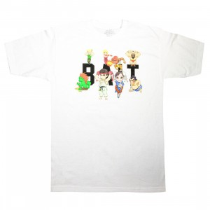 BAIT x Street Fighter Men Chibi Group Tee (white)