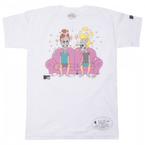 BAIT x MTV Beavis And Butthead x Gondek Men Couch Tee (white)