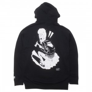 BAIT x MTV Beavis And Butthead x Gondek Men Beavis Ax Hoody - Glow In The Dark (black)