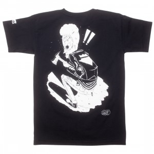 BAIT x MTV Beavis And Butthead x Gondek Men Beavis Ax Tee - Glow In The Dark (black)