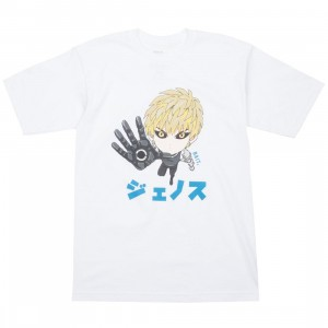 BAIT x One Punch Man Men Genos Chibi Tee (white)