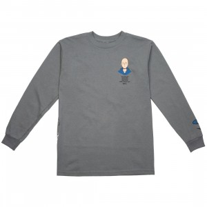 BAIT x One Punch Man Men Workout Plan Long Sleeve Tee (gray / ash)
