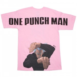 BAIT x One Punch Man Men Garou Tee (pink / hot pink)