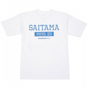 BAIT x One Punch Man Men Saitama Physical Education Tee (white)