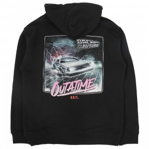 BAIT x Back To the Future Men Outatime Hoody (black)