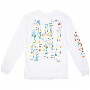 BAIT x Pacman Men Cherry Glitch Long Sleeve Tee (white)