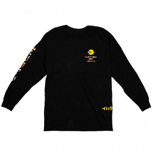BAIT x Pacman Men Glitch Long Sleeve Tee (black)
