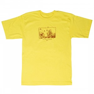 BAIT x Pokemon Sepia Men Life Of Pikachu Tee (yellow)