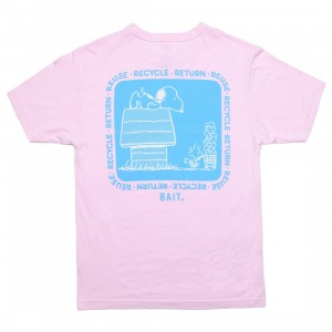 BAIT x Snoopy x Upcycle Men Recycle Tee (pink / powder pink)