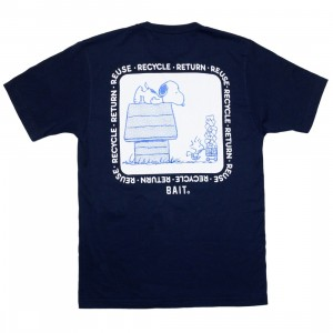 BAIT x Snoopy x Upcycle Men Recycle Tee (blue / stone)