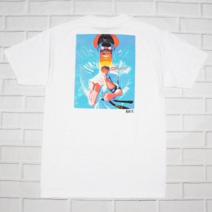 BAIT x Street Fighter Men Retro Ryu Tee (white)